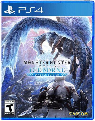 PS4 Monster Hunter World:Iceborne Master Edition(モンスターハンターワールド アイスボーンマスターエディション 北米版)〈Capcom〉9/6発売[新品]
