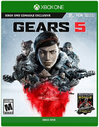 XboxONE Gears 5(ギアーズ5 北米版)〈Microsoft〉9/10発売[新品]