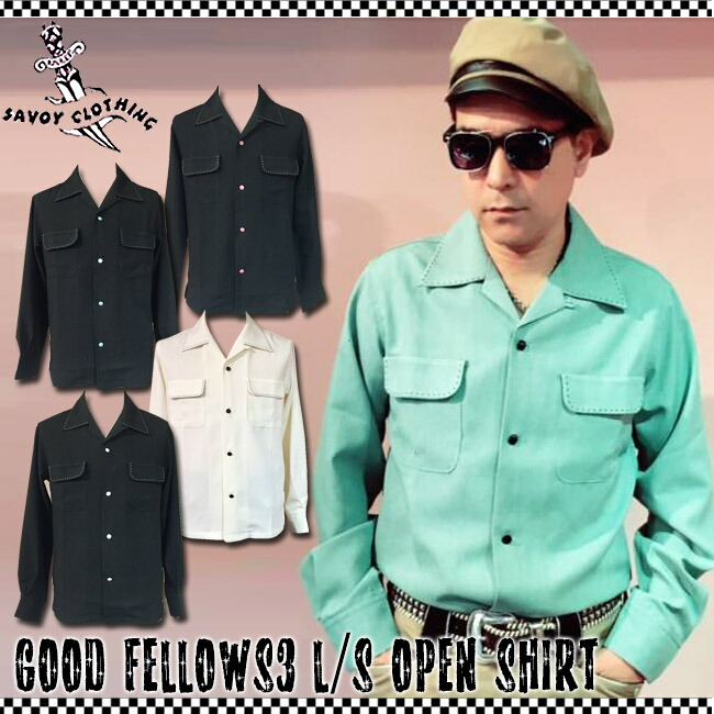 Good Fellows3 L/S Open Shirts