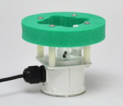 霧を簡単に作ることが出来る超音波霧化ユニット。加湿器の元が水に浮かぶイメージの商品です。