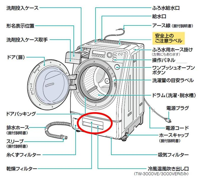Washing Machine Parts ~ Useful company rakuten global market toshiba genuine