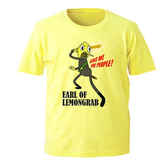 アドベンチャータイム レモングラブ伯爵Tシャツ