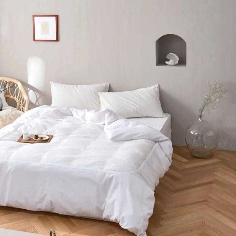綿100% 白ネット仕様掛け布団カバー