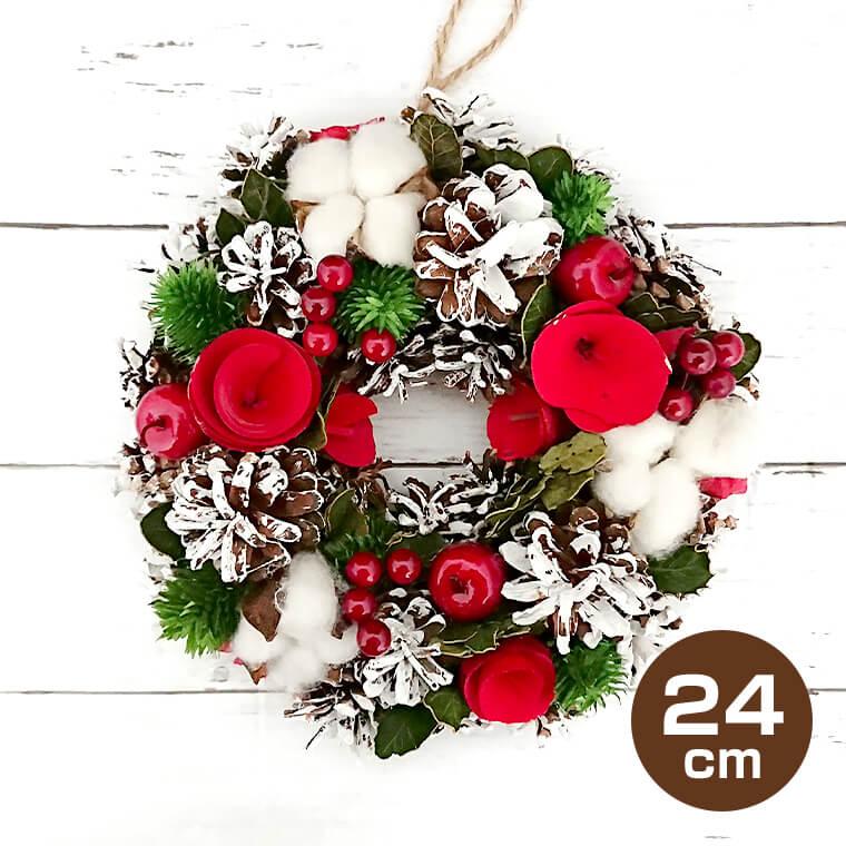 クリスマスリース 24cm Mサイズ