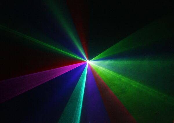 レーザーステージライト LS-RGB400