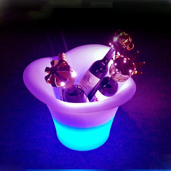 光る アイスペール カラオケやイベント、パーティーに!!