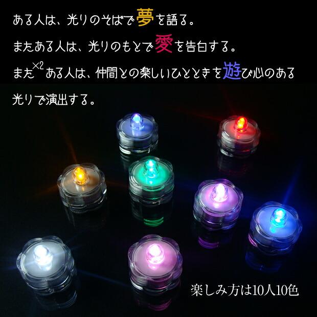 LED ライトキャンドル ろうそく 3つのドラマ