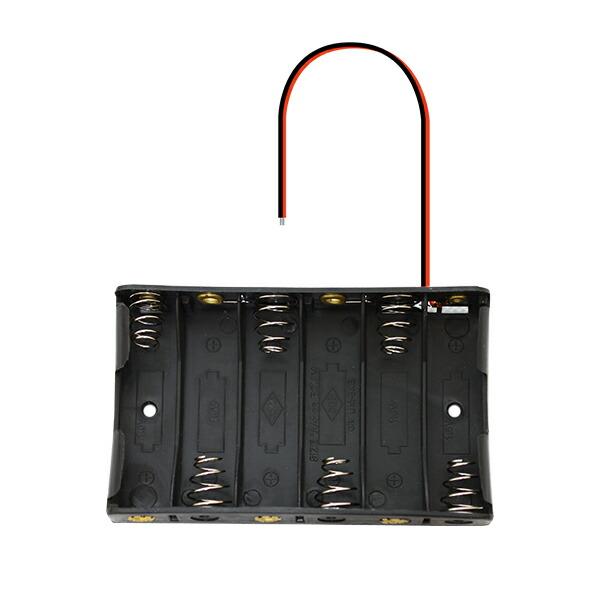 単三電池 × 6本 9V