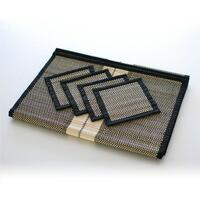 手織りランチョンマット&コースターセット