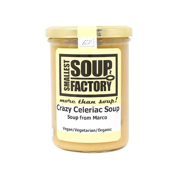 Smallest Soup Factory ココナッツミルクの有機濃厚根セロリスープ