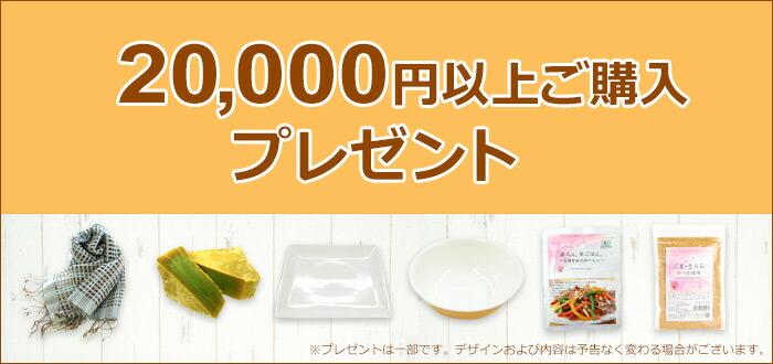 2万円以上ご購入プレゼント