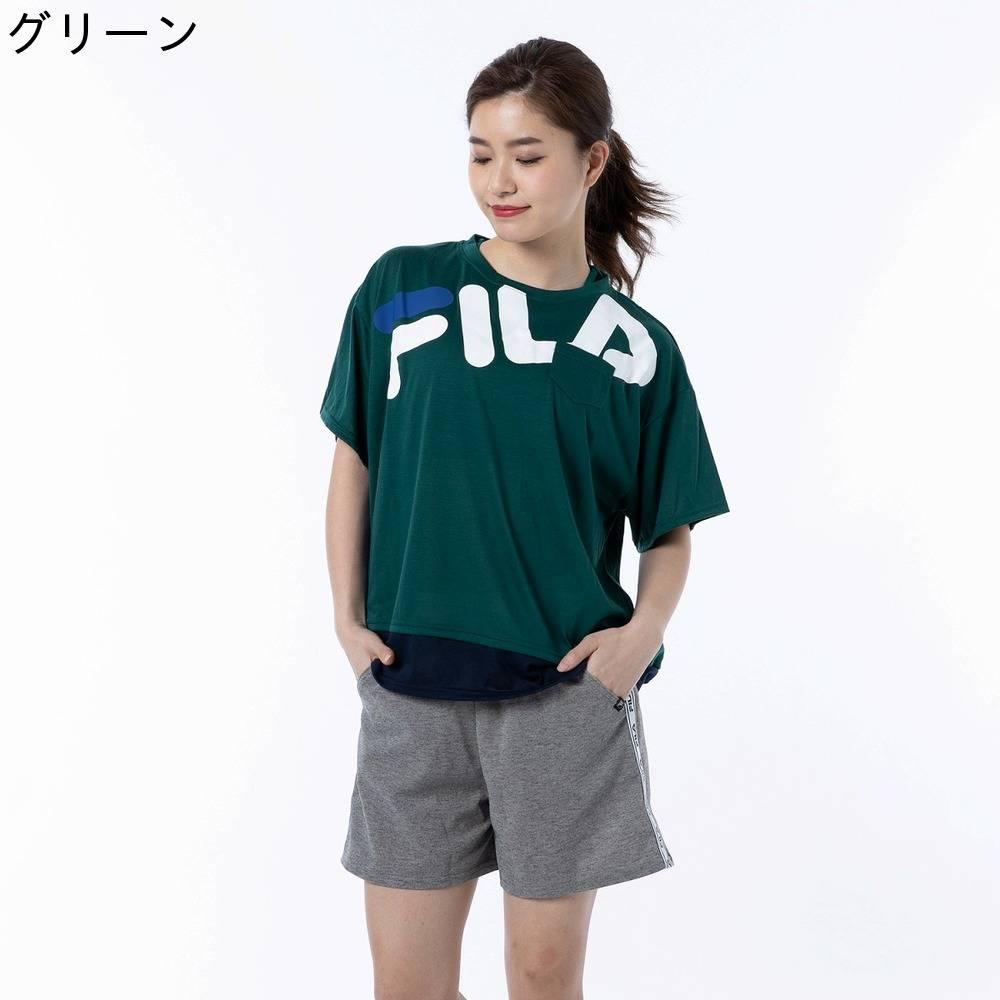【FILA (フィラ)】切替Tシャツ4点セット