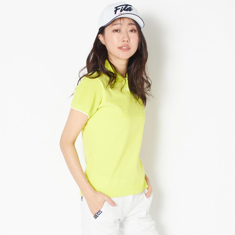 【送料無料】 FILA(フィラ) ポロシャツ レディース 全2色 M/L FILA 女性 ゴルフウェア かわいい オシャレ 大きいサイズ レジャー コース 春 夏
