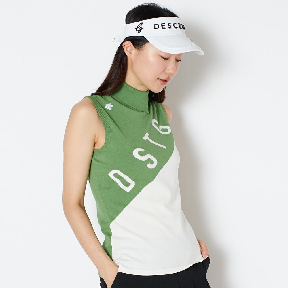 デサントゴルフ DESCENTE GOLF シャツ(グリーン)  ウィメンズ レディース 女性 秋 冬  グリーン  M/L DGWSJA02A
