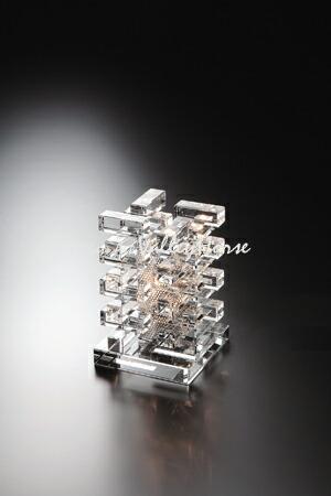 GLASS WORKS NARUMI (鳴海製陶)アスカ ランプスタンド