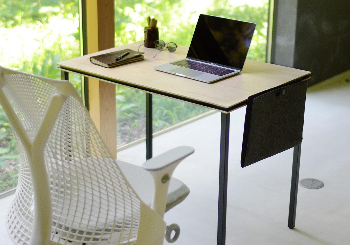 シンプルだからどんなオフィスチェアにも合わせやすい