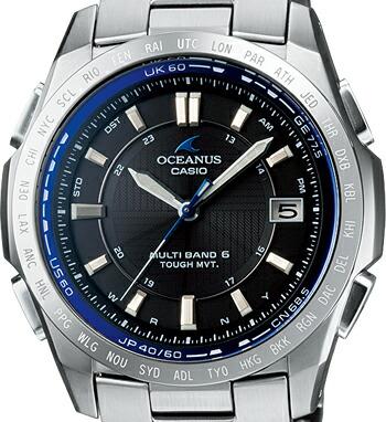 電波 ソーラー オシアナス OCEANUS OCW-T100TD-1AJF 腕時計 メンズ CASIO カシオ