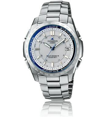 電波 ソーラー オシアナス OCEANUS OCW-T100TD-7AJF 腕時計 メンズ CASIO カシオ
