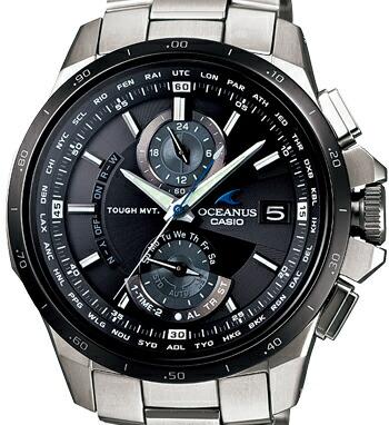 電波 ソーラー オシアナス OCEANUS OCW-T1010-1AJF 腕時計 メンズ CASIO カシオ