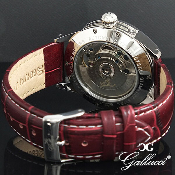 GALLUCCIガルーチ腕時計サンムーンWT23388AU-SSWH