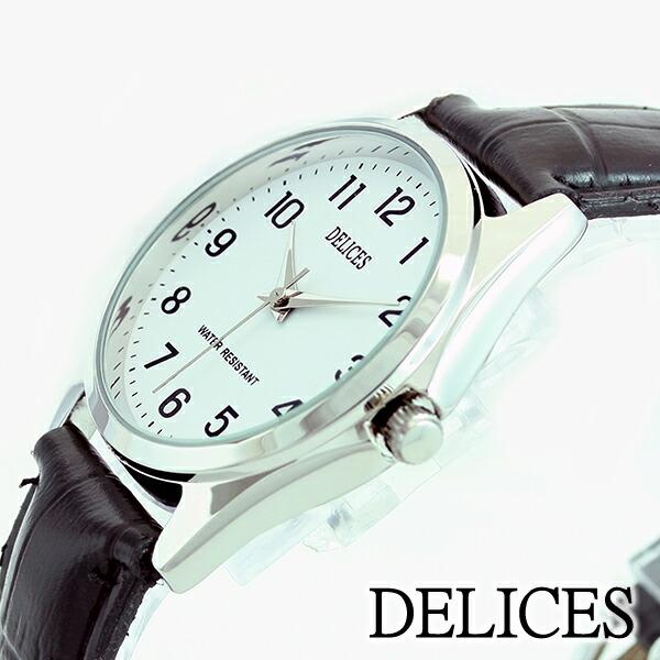 DELICESスタンダードウォッチDE021-01