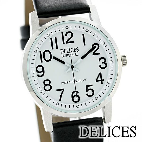 DELICESメンズ腕時計DE047-01