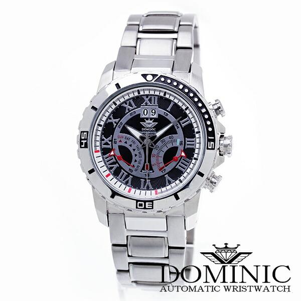 ドミニクDOMINIC腕時計DS1106G-B