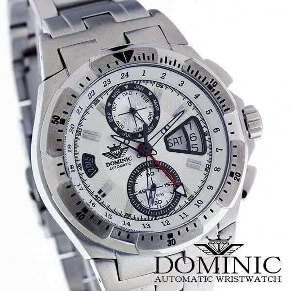 ドミニクDOMINIC腕時計DS1120G-Wメンズ