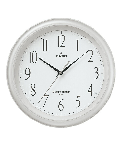 時計 掛け時計 カシオ CASIO 電波時計 電波 IQ-1010J-7JF 正規品