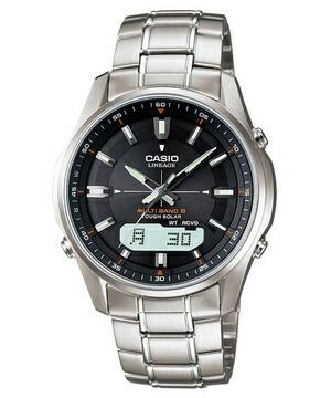電波ソーラー腕時計カシオCASIOメンズLINEAGEリニエージ電波ソーラー腕時計LCW-M100D-1AJF正規品