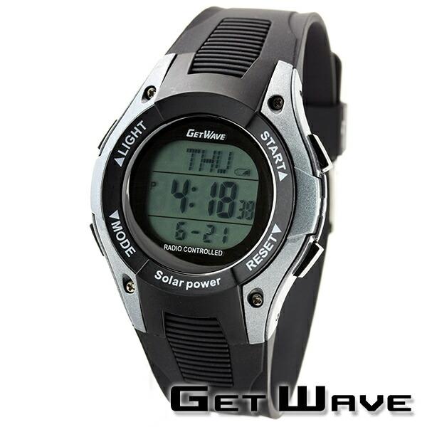 GETWAVE 腕時計 電波ソーラー MJW0009-GM1 メンズ
