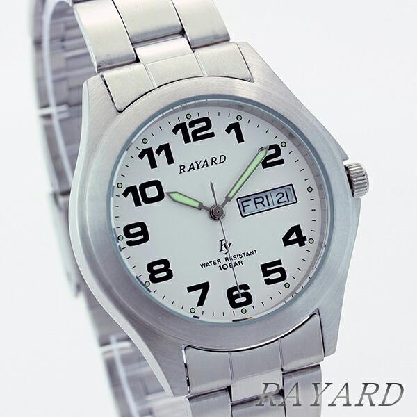 RAYARD 腕時計 RY159-01 メンズ