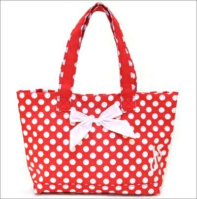 E Mix Tote Bag Ping Red Amp