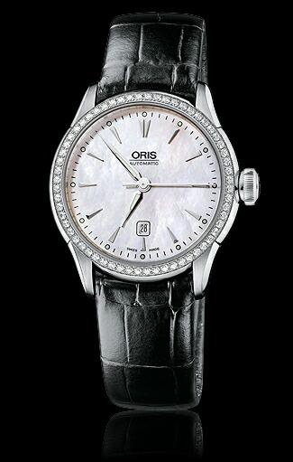 ORIS/オリスカルチャーOrisArtelierデイトダイヤモンド6176044956-0751671FC