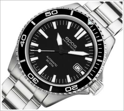 腕時計 メンズ エポス EPOS 機械式腕時計 メンズ腕時計 Collection Sportive ep-3413