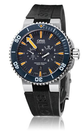 オリス 腕時計 ORIS Aquis Tubbataha Limited Edittion (アクイス トゥバタハ リミテッドエディション) ブレス 749.7663.71.85 【オリス 時計】