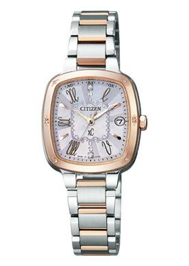 シチズン citizen クロスシー xc エコドライブ 電波時計 腕時計 レディース エコ・ドライブ電波時計 xC es8015-51w