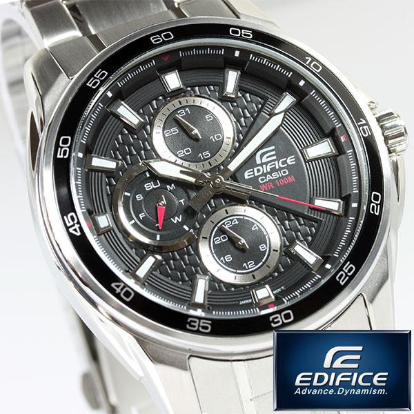 カシオ EDIFICE 腕時計 メンズ 海外モデル EF-334D-1AVDF