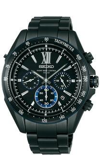 SEIKO セイコー 電波 ソーラー クロノグラフ 腕時計 メンズ BRIGHTZ ブライツ 電波ソーラー腕時計SAGA109