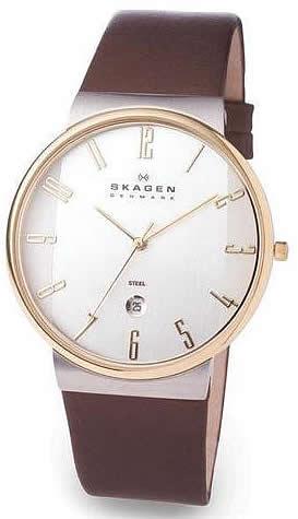 スカーゲン メンズ腕時計 メンズウォッチ 355XLGLD SKAGEN