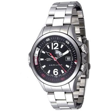 HAMILTON ハミルトン 腕時計 メンズ カーキ ネイビー H77555135