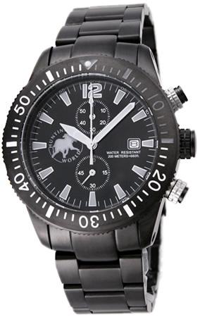 ハンティングワールド メンズ 腕時計 HW009BKGY HUNTING WORLD