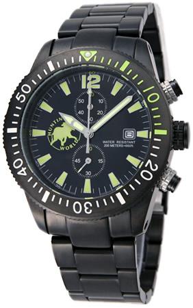 ハンティングワールド メンズ 腕時計 HW009BKYE HUNTING WORLD
