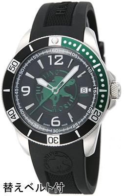 ハンティングワールド メンズ 腕時計 HW911BKSS 替えベルト