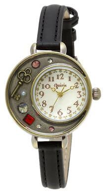 J-AXIS ウォッチ レディース腕時計 アンティーク調 ブラック BL940-BK