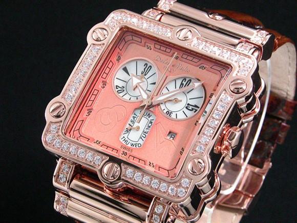 ドルチェ・メディオ メンズ腕時計 スーパーマリンDM8018QZ-PGBR Dolce Medio