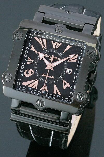 ドルチェ・メディオ メンズ腕時計DM8031-IPBKG Dolce Medio