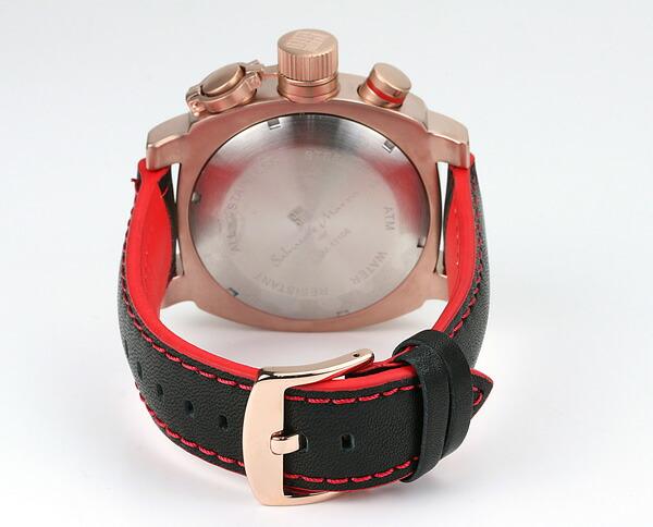サルバトーレ・マーラ メンズ腕時計 SM11106-PGWH Salvatore Marra
