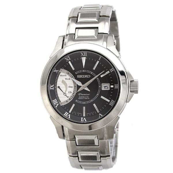 SEIKO Premier セイコー 腕時計 キネティック搭載ダイレクトドライブ メンズウォッチ SRG001P1