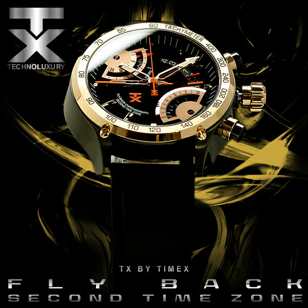 【TX】【TIMEX】 タイメックス社 生誕150年目の新ブランド フライバッククロノグラフ 腕時計 T3C178